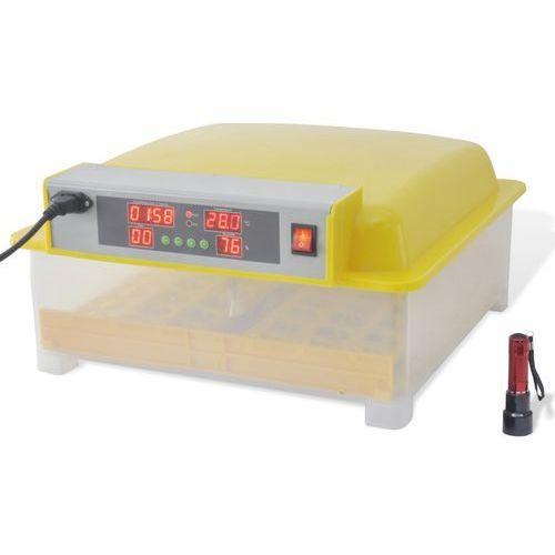 vidaXL Automatyczny inkubator do jajek / Wylęgarka na 48 jaj