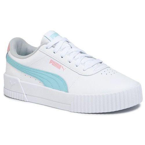 Puma Sneakersy - carina l jr 370677 06 puma white/gulf stream
