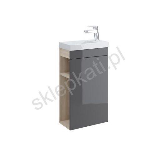 CERSANIT SMART Szafka podumywalkowa 40, front szary S568-023, S568-023