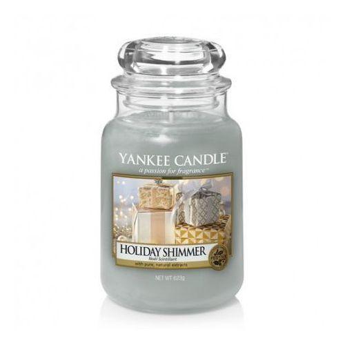 Yankee Candle Holiday Shimmer duża świeca zapachowa 623g, 5038581051062