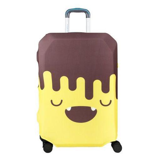 pokrowiec na dużą walizkę / rozmiar l / chocobanana - chocobanana marki Bg berlin