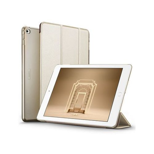 Etui ESR Smart Case iPad Air 2 Yippee Series Złote + Szkło - Złoty