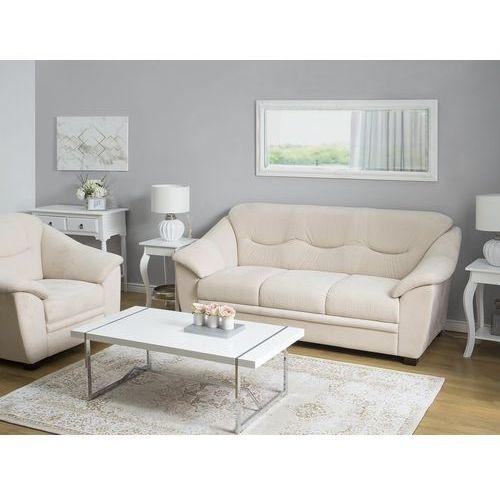 Zestaw wypoczynkowy tapicerowany beżowy 4-osobowy STAVANGER (4260602373803)