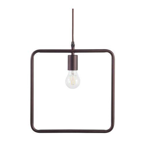 Lampa wisząca brązowa LERMA (7105275537459)
