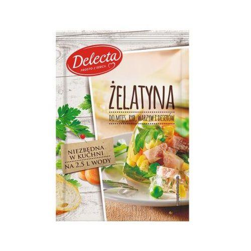 Delecta 50g żelatyna do mięs ryb warzyw i deserów