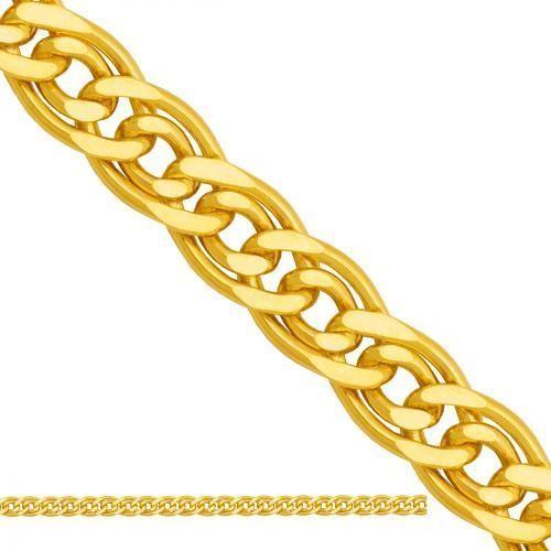 złoty łańcuszek dmuchany Mona Lisa Ld201 - sprawdź w wybranym sklepie