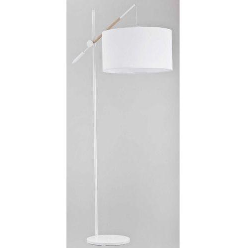 Alfa Lampka stołowa hila 24029 1x60w e27 biała