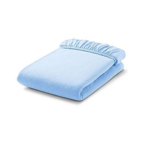 Mamo-tato prześcieradło frotte do łóżeczka 60x120cm - błękit