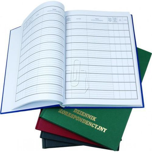 Książka korespondencyjna koh i noor a4 200 twarda oprawa marki Koh-i-noor