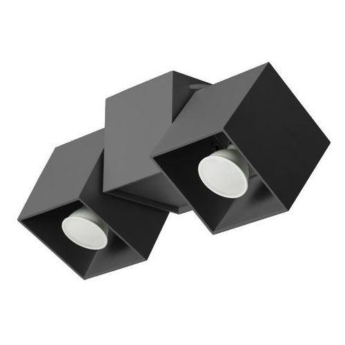 Lampa sufitowa Kraft 2B czarna, LAMP 650/2B CZA
