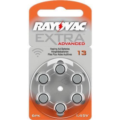 6 x baterie do aparatów słuchowych Rayovac Extra Advanced 13 MF (96126974)