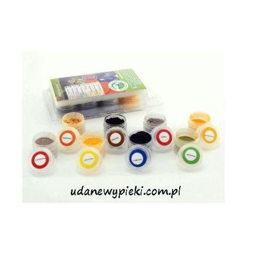 Naturalne barwniki spożywcze w proszku 8 kolorów od producenta Food colours