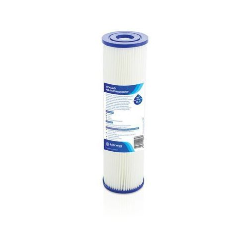 Wkład harmonijkowy Klarwod do filtra 10 EL 20 mikronów