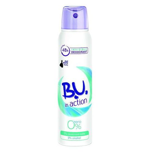 B.U. In Action Zero - deodorant ve spreji 150 ml (5201314089261)