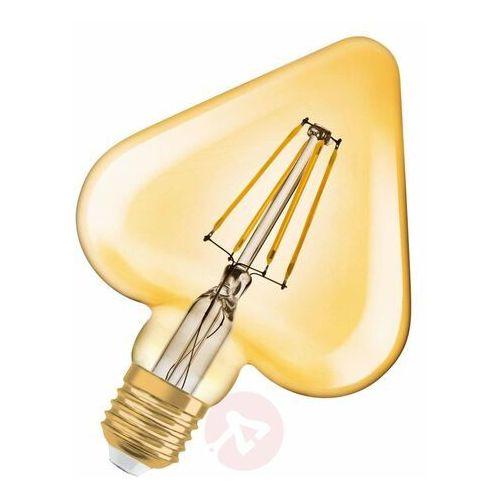 Żarówka LED OSRAM Vintage 1906 LED E27 Serce 4,5W/825 Złoty, 4058075092099