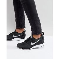 'fast pack' air zoom mariah flyknit racer trainers in black 918264-001 - black marki Nike