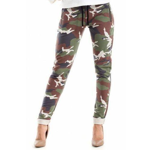 Spodnie damskie model 239 moro model 1 marki Moe