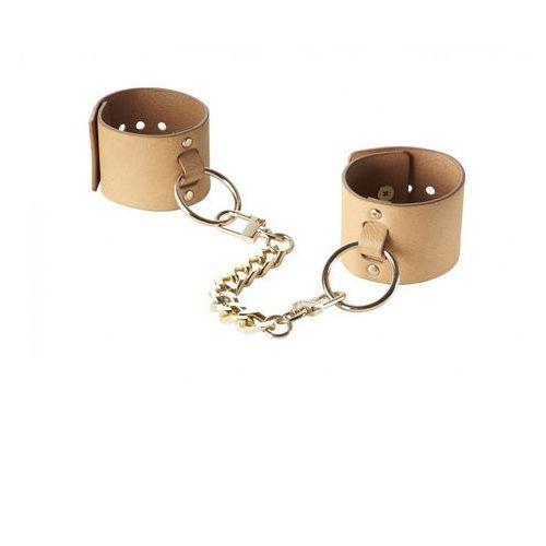 Kajdanki - Bijoux Indiscrets Maze Wide Cuffs Brown
