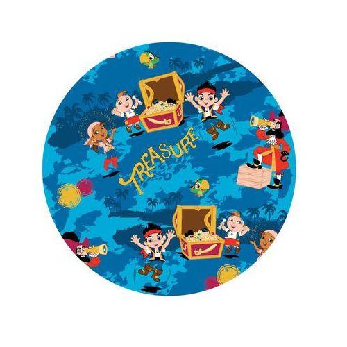 Dekoracyjny opłatek tortowy jake i piraci z nibylandii - 20 cm - 9 marki Modew