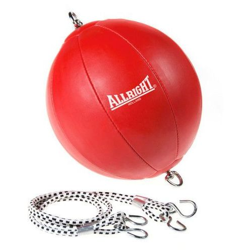 Gruszka bokserska na gumach  czerwona - czerwony marki Allright