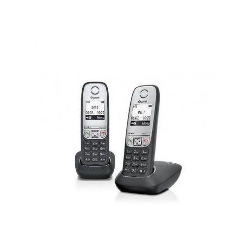 Telefon GIGASET A415 Duo + DARMOWY TRANSPORT! + Zamów z DOSTAWĄ JUTRO! - produkt z kategorii- Pozostałe akcesoria telefoniczne