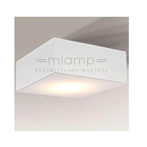 Shilo Plafon lampa sufitowa zama 1184/gx53/bi  natynkowa oprawa kwadratowa biała