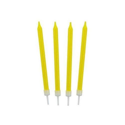 Go Świeczki urodzinowe żółte - 10 szt. (5901238683070)
