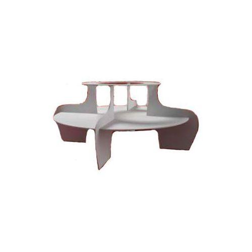 Podest do fontann czekoladowych CF51 PRO/CF65 PRO/Chocalo 60 /Chocalo 80 | śr.900x(H)400mm