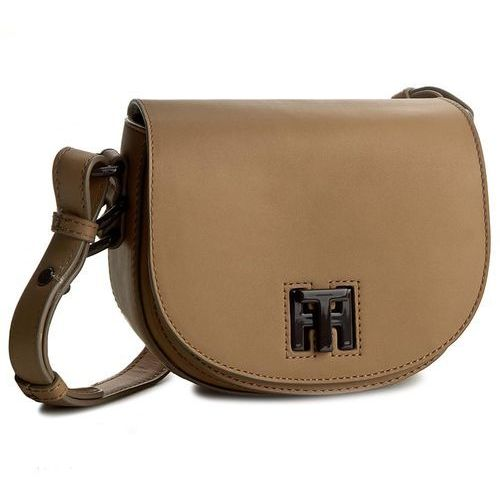 Torebka TOMMY HILFIGER - Mid Leather Mini Crossover AW0AW03892 251, towar z kategorii: Torebki