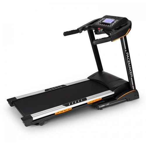 Capital sports Pacemaker x30 domowa profesjonalna bieżnia6,5km 22km/godz pas piersiowy czarna