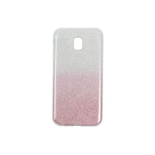 Samsung Galaxy J3 (2017) SM-J330 - etui na telefon Forcell Shining - różowe ombre