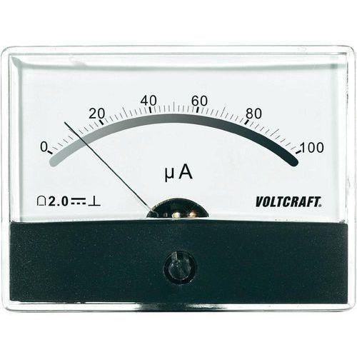 Analogowy wskaźnik panelowy VOLTCRAFT AM-86X65/100uA (4016138786057)