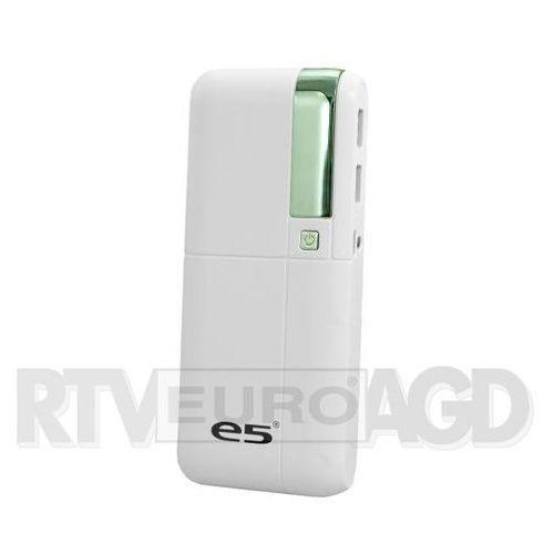 Powerbank  duke 10 000 mah biały z funkcją latarki (re02527white) darmowy odbiór w 20 miastach! marki E5