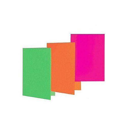 Okładki na dokumenty a4 karton 230g czerwone, 5szt. marki Datura