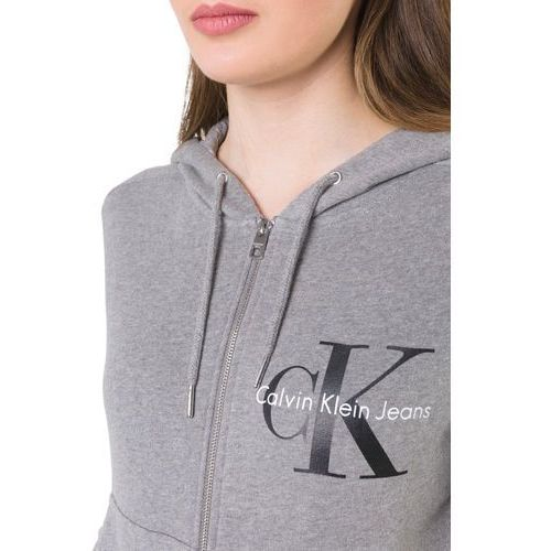 Calvin Klein Jeans HALI TRUE ICON ZIP THRU Bluza z kapturem