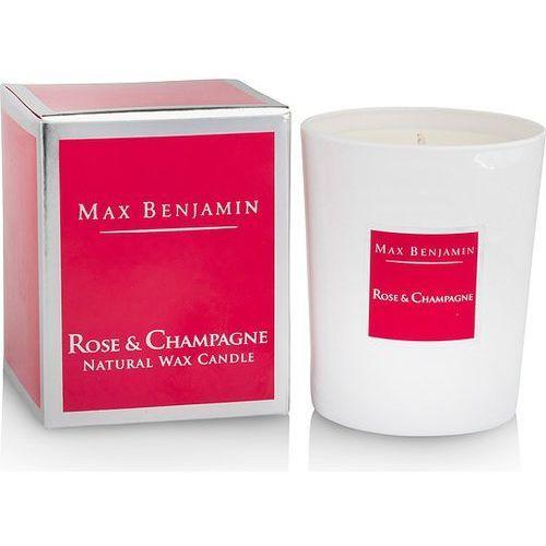 Max benjamin Świeca rose & champagne
