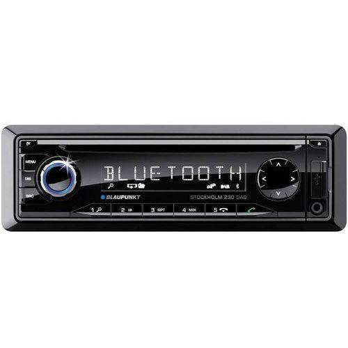 Blaupunkt Radio samochodowe  stockholm 230dab 1011402220, 4 x 50 w, cd, cd-r, cd-rw, mp3, wma, usb, jack, sd, tuner dab+