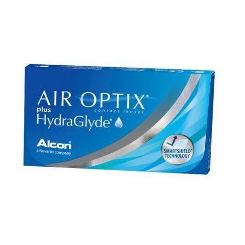 Air optix plus hydraglyde 6szt -0,25 soczewki miesięczne