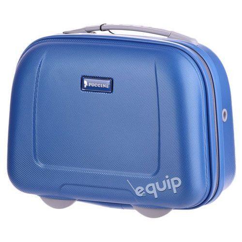 Kuferek podróżny Puccini ABSQM01 - niebieski z kategorii Torby i walizki