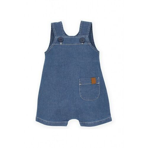 Ogrodniczki niemowlęce jeansowe 6n38a4 marki Pinokio