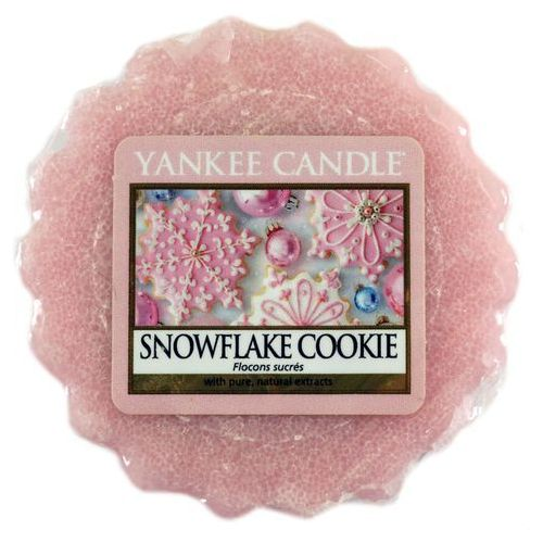 Wosk zapachowy - snowflake cookie - 22g - marki Yankee candle