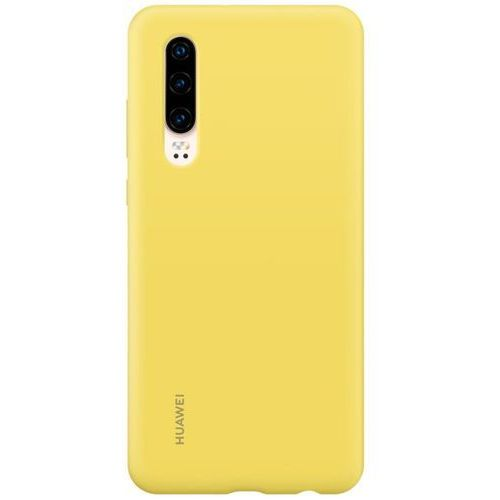Huawei P30 Silicone Cover - Lime Yellow