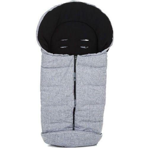 Abc design śpiworek na nóżki graphite grey