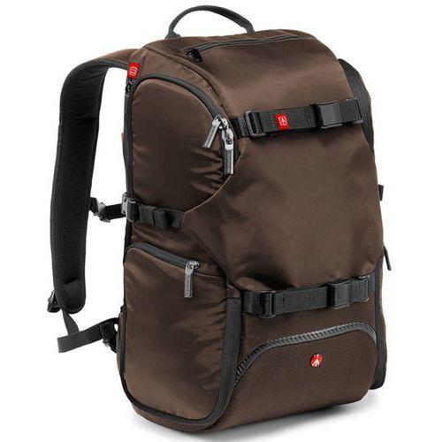 Plecak Manfrotto ADVANCED TRAVEL BACKPACK BROWN (MB MA-TRV-BW) Darmowy odbiór w 21 miastach!, kolor brązowy