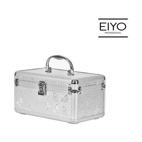 Kuferek kosmetyczny MOTYLEK srebrny – Neonail