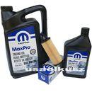 Olej MOPAR 5W30 oraz oryginalny filtr Jeep Cherokee KL 3,2 V6