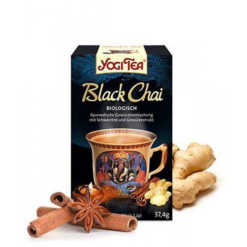 czarny czaj (black chai) marki Yogi tea