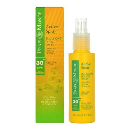 Frais Monde Active Spray Sun Lotion SPF30 125ml W Opalanie do skóry wrażliwej