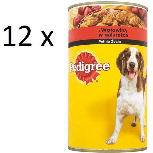 PEDIGREE Puszka wołowina w galarecie 1200g x12- RÓB ZAKUPY I ZBIERAJ PUNKTY PAYBACK - DARMOWA WYSYŁKA OD 99 ZŁ, towar z kategorii: Karmy dla psów