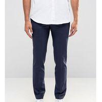 suit trousers in super skinny fit - navy marki Noak